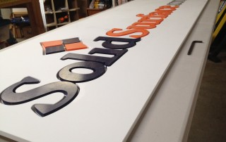 Using Solid Surface for Professional Signage